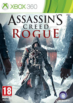 Assassin's Creed Rogue Xbox 360 Cover Art