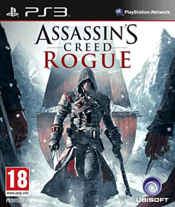 Assassin's Creed: Rogue PlayStation 3 Cover Art