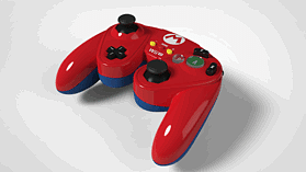 Super Smash Bros Mario Gamecube Controller For Wii U screen shot 3