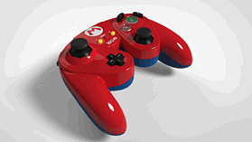 Super Smash Bros Mario Gamecube Controller For Wii U screen shot 4