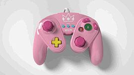 Super Smash Bros Peach Gamecube Controller For Wii U Accessories