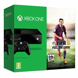 Xbox One Console with FIFA 15 download and Forza 5 Game of the Year download Xbox-One