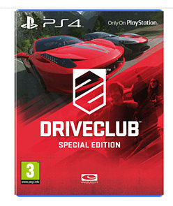 DriveClub: Special Edition - Only at GAME PlayStation 4