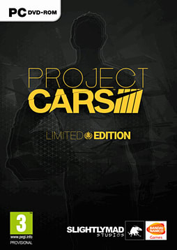 Project CARS Limited Edition PC Games Cover Art