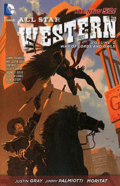 All-Star Western Volume 3: The Black Diamond Probability TP (The New 52) (All Star Western Featuring Books