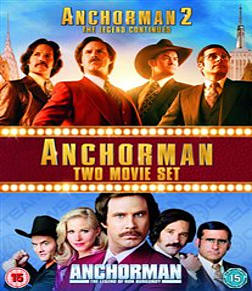 Anchorman 1-2 Box Set [Blu-ray] Blu-ray