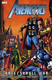 Avengers: Kree/Skrull War (New Edition) (Paperback) Books