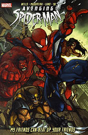 Avenging Spider-Man: My Friends Can Beat Up Your Friends (Paperback) Books