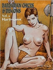 Barbarian Chicks & Demons Vol.4 (Paperback) Books