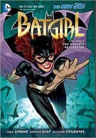 Batgirl HC Vol 01 The Darkest Reflection ( The New 52 ) (Batgirl (DC Comics Hardcover)) (Hardcover) Books