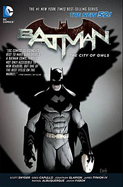 Batman Volume 2: The City of Owls TP (The New 52) (Paperback) Books