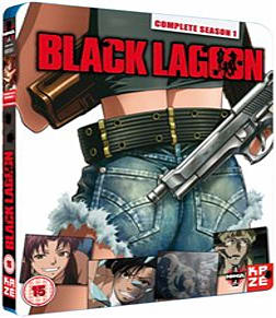 Black Lagoon Complete Season 1 Collection Blu-ray Blu-ray