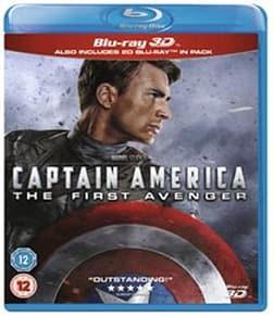 Captain America: First Avenger 3D BD [Blu-ray] [Region Free] Blu-ray