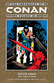 The Chronicles of Conan Volume 25: Exodus and Other Stories (Paperback) Books