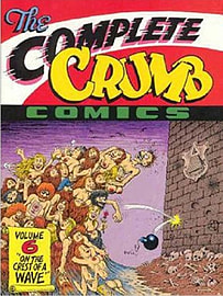 The Complete Crumb Comics: Fritz the Cat v. 3 (Paperback) Books