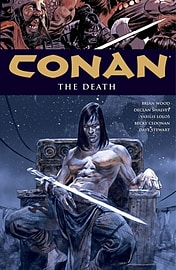 Conan Volume 14: The Death HC (Conan (Dark Horse Unnumbered)) (Hardcover) Books