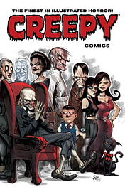Creepy Comics Volume 3: The Lurking Fate (Paperback) Books