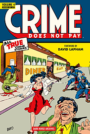 Crime Does Not Pay Archives Volume 5 (Hardcover) Books