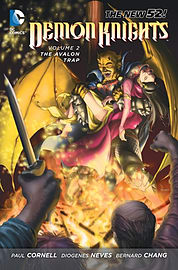 Demon Knights Volume 3 (The New 52) (Paperback) Books