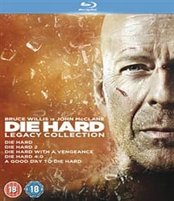 Die Hard: Legacy Collection (Films 1-5) [Blu-ray] [1988] Blu-ray
