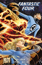 Fantastic Four by Jonathan Hickman - Volume 6 (Fantastic Four (Marvel Hardcover)) (Hardcover) Books
