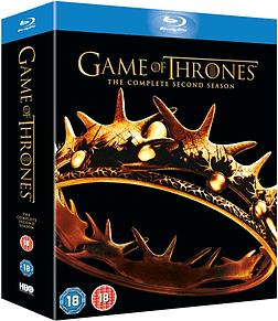 Game of Thrones - Season 2 [Blu-ray] [2013] [Region Free] Blu-ray