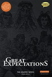 Great Expectations The Graphic Novel: Quick Text (British English) (Paperback) Books