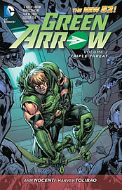 Green Arrow Volume 3 TP (The New 52) (Green Arrow (DC Comics Paperback)) (Paperback) Books