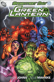 Green Lantern Brightest Day TP (Green Lantern Graphic Novels) (Paperback) Books