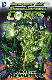 Green Lantern Corps Volume 1: Fearsome TP (The New 52) (Paperback) Books