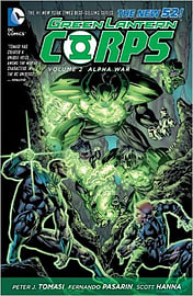 Green Lantern Corps Volume 2: Alpha War TP (The New 52) (Paperback) Books