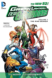 Green Lantern New Guardians Volume 1: Ring Bearer HC (Green Lantern Graphic Novels) (Hardcover) Books