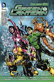 Green Lantern: Rise of the Third Army TP (The New 52) (Paperback) Books