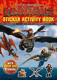 How To Train Your Dragon 2 Bumper Sticker Book (Paperback) Books