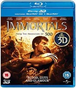 Immortals (Blu-ray 3D + Blu-ray) [2011] Blu-ray