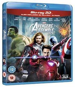 Marvel Avengers Assemble (Blu-ray 3D + Blu-ray) [Region Free] Blu-ray