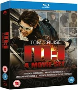 Mission Impossible 1-4 [Blu-ray] Blu-ray