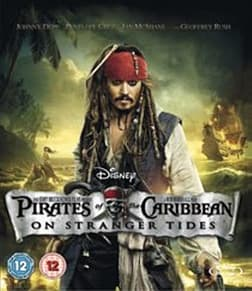 Pirates of the Caribbean: On Stranger Tides [Blu-ray] [Region Free] Blu-ray