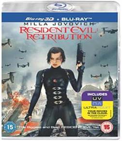 Resident Evil: Retribution (Blu-ray 3D + Blu-ray + UV Copy) [2012] [Region Free] Blu-ray