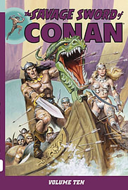 The Savage Sword of Conan Volume 11 (Paperback) Books