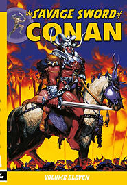The Savage Sword of Conan Volume 12 (Paperback) Books