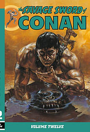 The Savage Sword of Conan Volume 13 (Paperback) Books