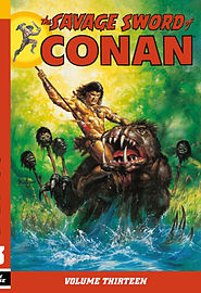 The Savage Sword of Conan Volume 14 (Paperback) Books