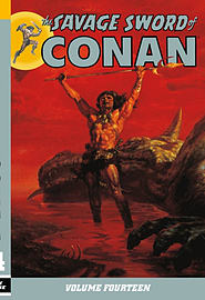 The Savage Sword of Conan Volume 15 (Paperback) Books
