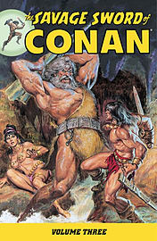 The Savage Sword of Conan Volume 4: v. 4 (Paperback) Books