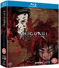 Shigurui - Death Frenzy - The Complete Series [Blu-ray] Blu-ray