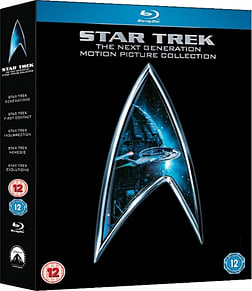 Star Trek - The Next Generation Movie Collection [Blu-ray] [2009] Blu-ray