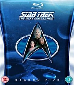 Star Trek: The Next Generation - Season 5 [Blu-ray] [1991] [Region Free] Blu-ray