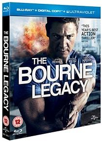 The Bourne Legacy (Blu-ray + Digital Copy + UV Copy) [2012] [Region Free] Blu-ray