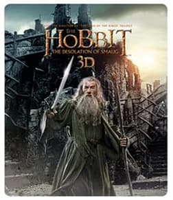The Hobbit: The Desolation Of Smaug - Limited Edition Steelbook [Blu-ray 3D + Blu-ray + UV Copy] [20 Blu-ray